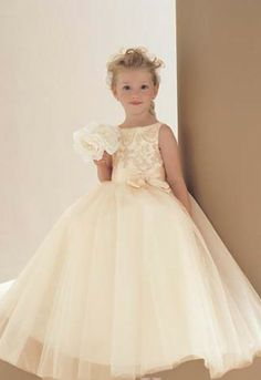 Classy Flower Girl Dress!  Come to Davison Bridal in Davison, MI for all of your wedding day and special event needs! Unfortunately, we do not carry all of these items that we pin, but feel free to stop into our shop and check out the inventory that we do have! Call (810) 658-6070 or visit our website www.davisonbridal.com for more information!