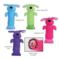 Crinkle Pup Plush Water Bottle Stuffed Toy for Dog Dogs Puppy Endless Fun