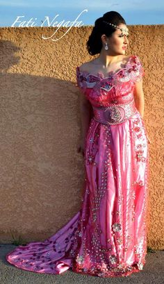 Traditional Dress From Setif - #Algeria
