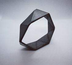 Steel 3d Printed Jewellery Bangle - Rotterdam