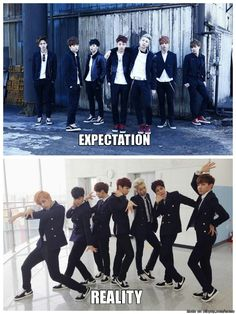 Expectation and Reality | allkpop Meme Center