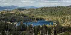 Bear Lakes are in the heart of the Lakes Basin Recreation Area, the northernmost section of the Sierra Nevada. Less visited than Sierra regions to the south, the area is home to spectacular alpine lakes set among a forested and granitic mountain backdrop. Multiple trails weave through the Bear Lakes