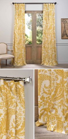 chocolate coral and gold shower curtain. Half Price Drapes Edina Yellow 96 x 50 Inch Printed Cotton Curtain Single  Panel Imperial Chocolate Brown Eyelet Luxury Curtains UK