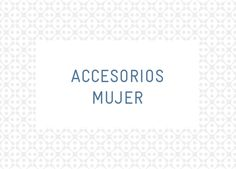 Accesorios Mujer S/S13 Pockets