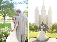 makes me think of our church! cute wedding photos