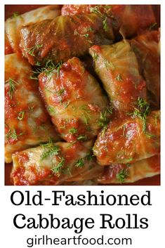 Best Cabbage Rolls Recipe, Easy Cabbage Rolls, Cabbage Recipes, Meat Recipes, Dinner Recipes, Cooking Recipes, Ukrainian Cabbage Rolls, Easy Stuffed Cabbage, Baked Cabbage