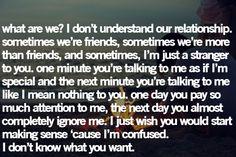 tell her before she leaves...