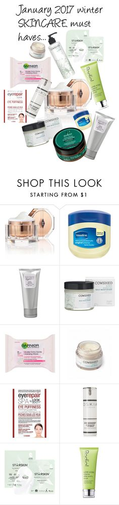 """""""January 2017 winter skincare"""" by kseleva on Polyvore featuring beauty, Charlotte Tilbury, Laura Mercier, Cowshed, Garnier, Look Beauty, Oskia, Starskin and Rodial"""