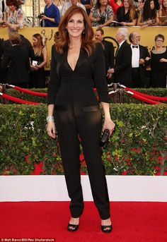Coming soon: The mother-of-three, seen here the SAG awards in Los Angeles on January 25, has recently wrapped the final scenes on the upcoming remake of Argentine film El secreto de sus ojos, or Secret In Their Eyes, which is due out in October