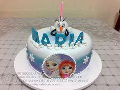 Bolo-Decorado-Frozen/Frozen Cake