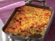 Gratin de quinoa, endives et jambon cru