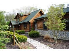 Haven't you ever wanted to live in a log cabin?