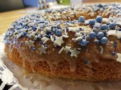 """Butter – Mandel – Kuchen """"Ratzfatz"""" - Sweetrecipes German Baking, Spatzle, Blue Hawaii, Doughnut, Muffins, Recipies, Deserts, Dessert Recipes, Food And Drink"""