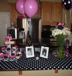 12 Best Minnie Mouse Party Images On Pinterest
