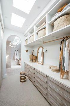 // c a s w g o o d s : c l o s e t Walk In Closet Design, Bedroom Closet Design, Closet Designs, Home Bedroom, Bedroom Ideas, Bedroom Decor, Master Room Design, Bedroom Storage, Bedroom Apartment