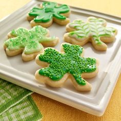Cream cheese sugar cookies. They sound really delicious and easy to make.