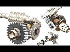 In this tutorial video i will teach you how to sketch Differential Gear box in Solidworks. A differential is a gear train with three shafts that has the prop. Mechanical Design, Mechanical Engineering, 3d Drawings, Technical Drawings, Autocad Inventor, Solidworks Tutorial, Pattern Sketch, Custom Car Interior, Cad Cam