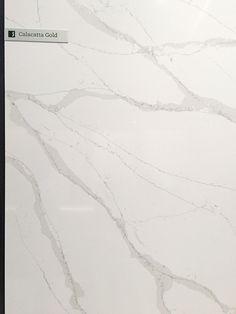 The 3 Best Alternatives to Calacatta Marble Surfaces Calacatta Gold - Silestone Eternal Series via C Silestone Calacatta Gold, Silestone Countertops, Porcelain Countertops, Gold Kitchen, Kitchen Tops, Home Decor Kitchen, Kitchen Ideas, Kitchen Redo, Kitchen Design