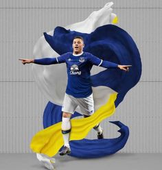 Everton Home Kit Everton Fc, Football Kits, Soccer Shirts, Premier League, Sports, Nice, Soccer Kits, Hs Sports, Sport