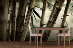 Bamboo Jungle Mural Wallpaper