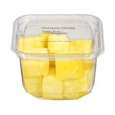 Walmart Pineapple Chunks, 10 oz ❤ liked on Polyvore
