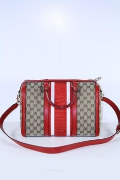 Gucci Handbags Beige and Red Leather 247205 (LIMITED COLOR) Gucci, http://www.amazon.com/dp/B00AZPJAB0/ref=cm_sw_r_pi_dp_UK0crb16YR9D5