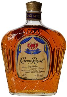 From Crown Royal Blended Canadian Whiskey Bottle 70 Cl Scotch Whiskey, Bourbon Whiskey, Whisky, Irish Whiskey, Good Whiskey Brands, Bourbon Brands, Top Whiskeys, Crown Royal Whiskey, White Oak Barrels