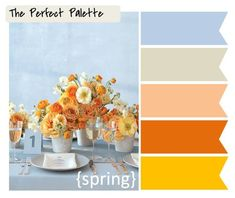 10 Palette Inspiring Centerpieces