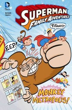 J GRA DC. The City of Metropolis runs into monkey mayhem when Beppo's friend goes crazy, and Titano, the giant angry ape, appears.