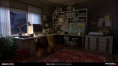 ArtStation - Uncharted 4: A Thief's End, Boon Cotter