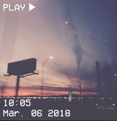 M O O N V E I N S 1 0 1 #vhs #aesthetic #sky #sunset