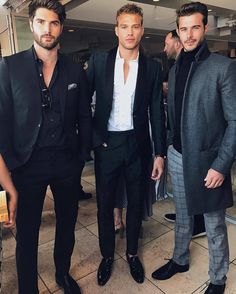 Nick Bateman, Matthew Noszka, Alex Prange at Fashion L.A. Awards 2017