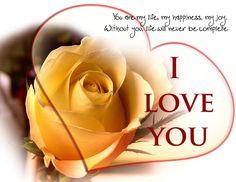 Here are some I Love you messages for her that you can use to express your feelings to that special lady of yours. We chose the best sets of romantic love messages for her to express your heartiest feelings towards your special someone. Love Messages For Her, Romantic Love Messages, Romantic Quotes, I Love You Pictures, Love Images, Bing Images, Love My Sister, My Love, Dear Sister