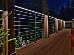 Deck railing isn't just a security function. It can include a stunning aesthetic to frame a decked location or veranda. These 36 deck railing ideas reveal you just how it's done! Wood Deck Railing, Deck Railing Design, Patio Deck Designs, Balcony Railing, Cable Railing, Horizontal Deck Railing, Back Deck Designs, Outdoor Railings, Porch Railings