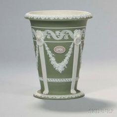 Wedgwood Tricolor Jasper Dip Vase