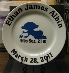 Image detail for -baby out of blue vinyl i am also including the plate holder with the ...