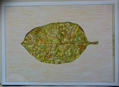 Drawing leave Autumn lovers  made by me