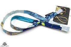 Schlüsselband in hellblau im Patchwork-Design der #lieblingsmanufaktur