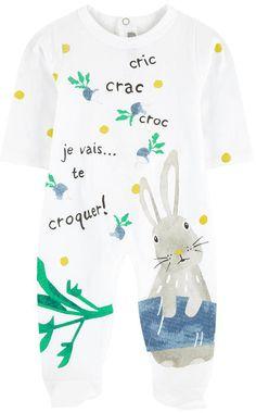 5265d73b1082 Printed pyjamas Catimini for babies