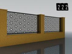 PLOTY GEOMETRY – Ploty-Brány-Zábradlia-Doplnky Plasma Cutting, Storage, Furniture, Home Decor, Balcony, Homemade Home Decor, Larger, Home Furnishings, Decoration Home