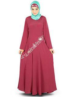 Samiyah Pink Abaya AY325 Elegant Burka/Burqa Jilbab Dress Muslim Hijab Dress in Clothing, Shoes & Accessories, Cultural & Ethnic Clothing, Middle East | eBay