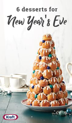 6 Desserts for New Year's Eve – Celebrate the new year with friends, family and these tasty dessert ideas! With recipes like Champagne Bites, Gingerbread Trifle, and everything in between, you're sure to find the perfect sweet treat to ring in the new year.