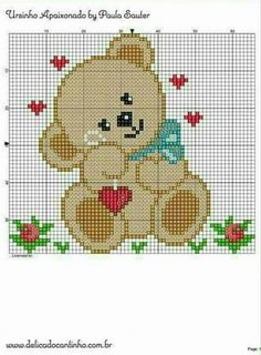 dheby art: Gráfico Pinguins!                                                                                                                                                                                 Mais Crochet Pixel, Pixel Crochet Blanket, C2c Crochet, Crochet Quilt, Tapestry Crochet, Crochet Chart, Filet Crochet, Crochet Baby, Baby Cross Stitch Patterns