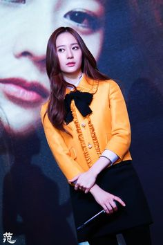 """151128 Krystal F(x) - """"Graduation Season"""" Press Conference"""