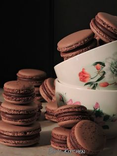 Eni´s Kitchen: Macarons de chocolate