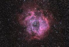 Rosette Nebular in HaRGB
