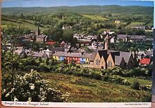 Irish Postcard DONEGAL TOWN County View John Hinde Chrome Color 1974 Ireland