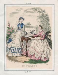 Motiv meandra u haljinama 1860.ih - Modni zamorac - Blog.hr