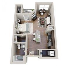 the best studio apartment layouts