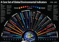 Chart: Environmental Indicators Infographic - Information Graphic Designs at Style & Flow